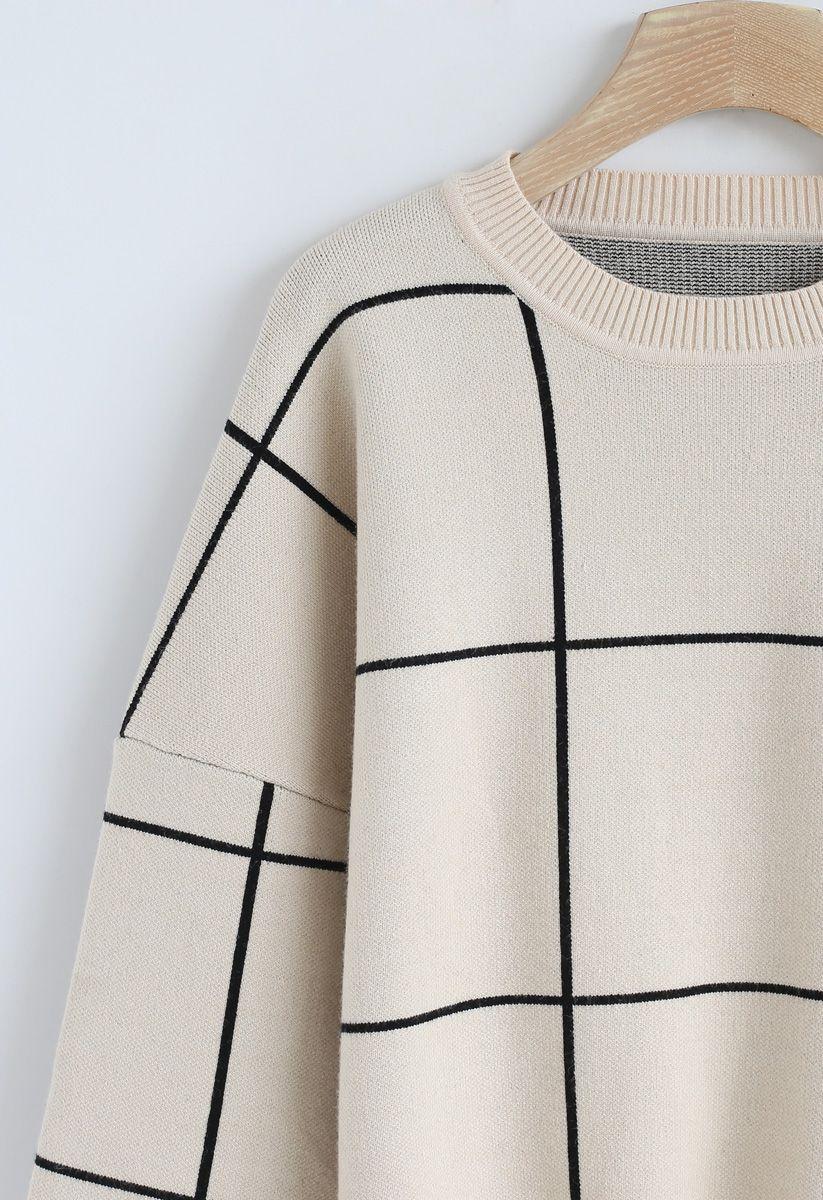 Pullover mit Rüschen und Rundhalsausschnitt