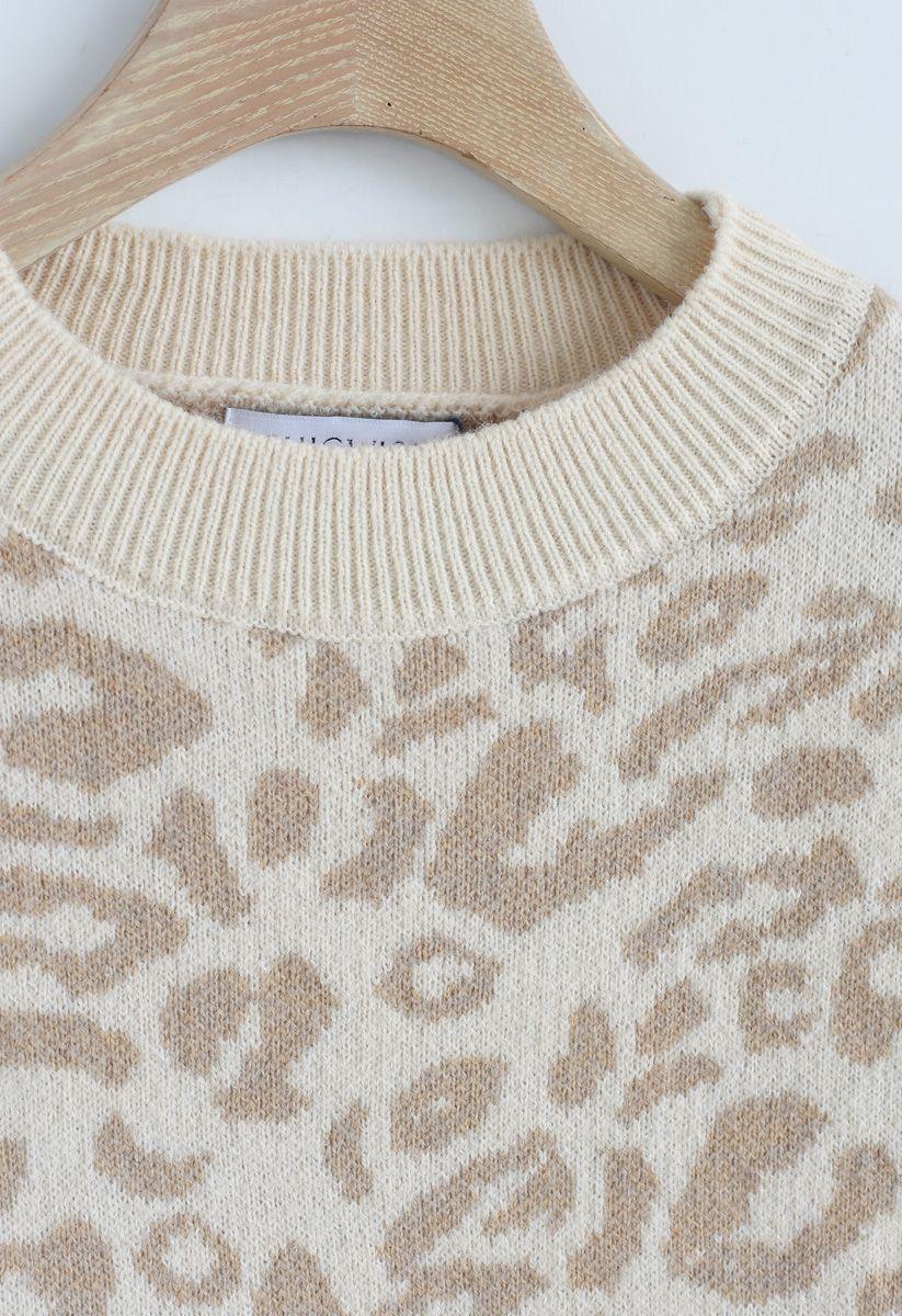 Es ist ein gutes Leben - Jersey extragrande de leopardo
