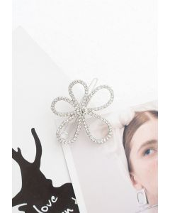 Elegante Kristall Gänseblümchen Bobby Pin