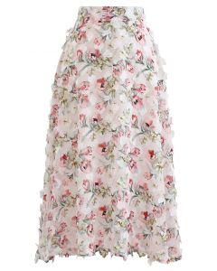 Enchanted Fairyland Mesh Flare Skirt