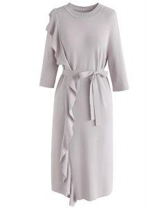 Aumente su elegancia: ropa interior tejida en gris