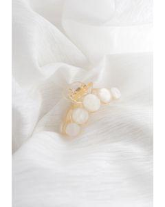 Glänzende marmorartige Kreishaarklaue